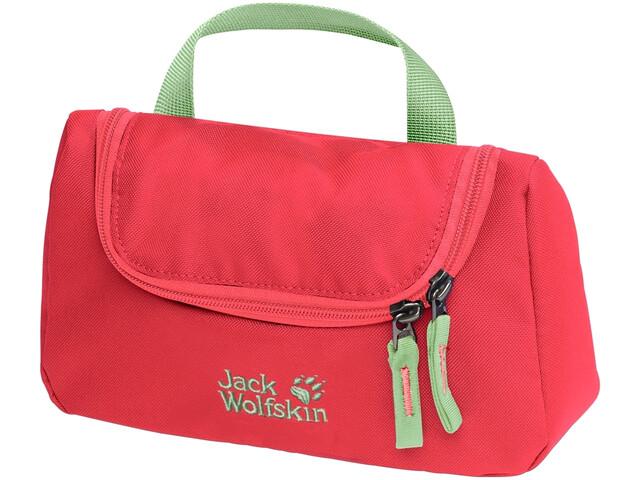 Jack Wolfskin Washroom Wash Bag Kids, tulip red
